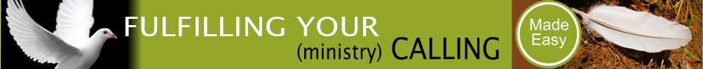 Ministry Calling Banner