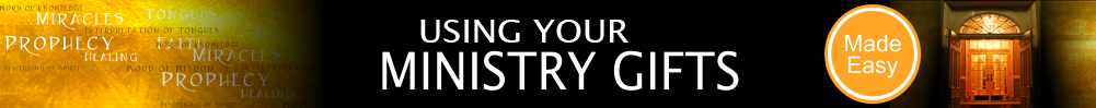 Ministry Gifts Banner